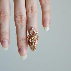 ❗️LAST ONE❗️ Fancy Fingernail Art Ring - Style #3